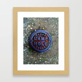 Elmwood Avenue Self Explanatory Framed Art Print