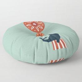 Circus Seal Floor Pillow