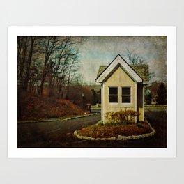 Springside Gatehouse Art Print