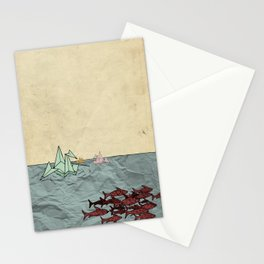 Paper Cranes Stationery Cards