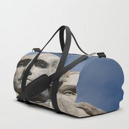 George Washington And Thomas Jefferson  - Mount Rushmore Duffle Bag