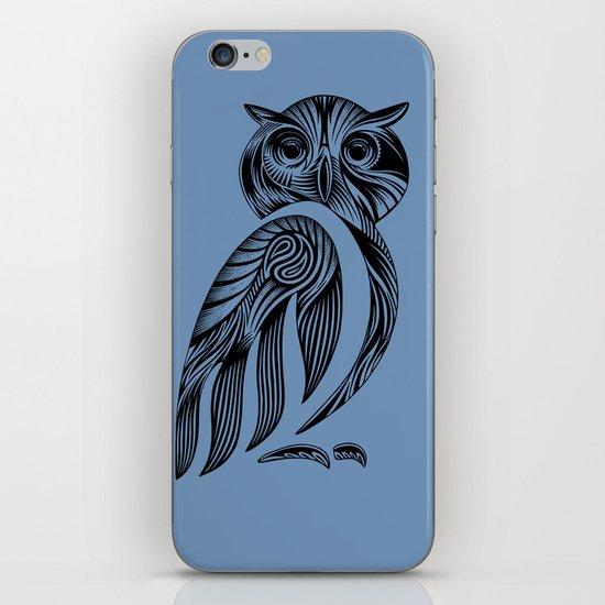 Tribal Owl iPhone & iPod Skin