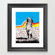 Standing Chief Framed Art Print