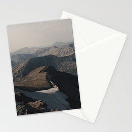 Mountain Layers in the Wyoming Wilderness Stationery Cards