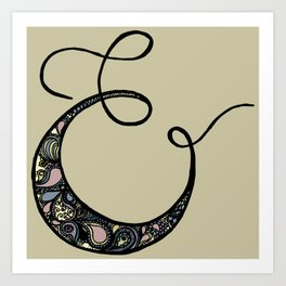everyone loves an ampersand Art Print