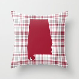 Bama alabama crimson tide gifts for university of alabama students and alumni Throw Pillow