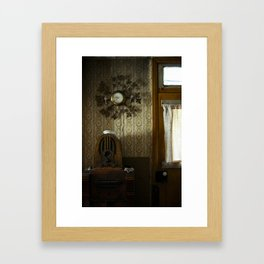 Farm house Framed Art Print
