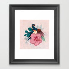 Barn Swallows Framed Art Print