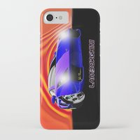 lamborghini iPhone & iPod Cases featuring Lamborghini Gallardo (2) by JT Digital Art