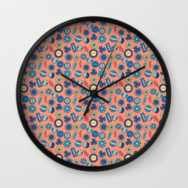 Button Box Wall Clock