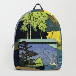 Yoshida Hiroshi - Japan Alps 12title, Hotaka Mountain - Digital Remastered Edition Backpack