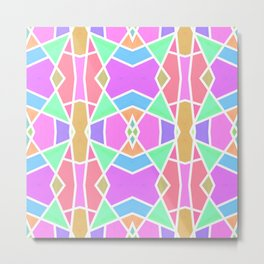 SWEET RETRO GEOMETRY Metal Print
