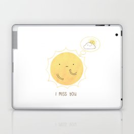 I Miss You Laptop & iPad Skin