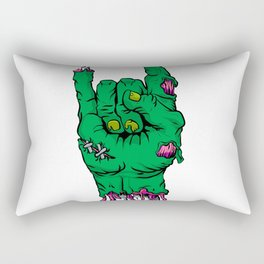 Zombie hand, Rectangular Pillow