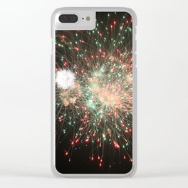 Bursting Color in the Sky Clear iPhone Case