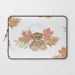 Autumn Bear Laptop Sleeve