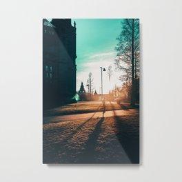 The Long Bright Dark. Metal Print