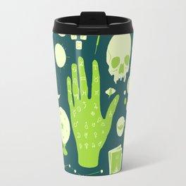 Methods of Divination - Green Travel Mug