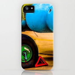 Landing Wheel Of A Military Attack Helicopter iPhone Case