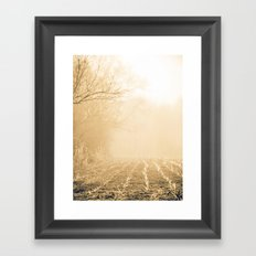 Into Obscurity  Framed Art Print