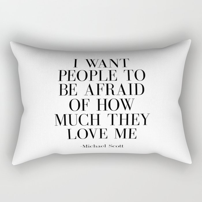 Fashion Poster Fashion Wall Art Typography Print Quote Print Art Wall Art Michel Scot Quote Print Rectangular Pillow