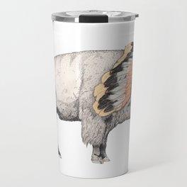 White Bison Travel Mug