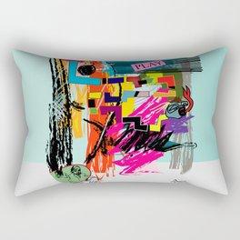 Beastie Players Rectangular Pillow