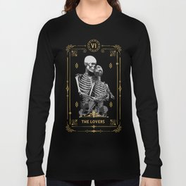The Lovers VI Tarot Card Long Sleeve T-shirt