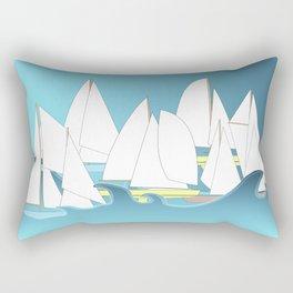 Segelboote - Sailboats Rectangular Pillow