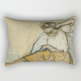 The Russian Dancer Rectangular Pillow