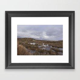 Connemara Marshland Framed Art Print