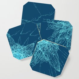 Shattered glass Coaster