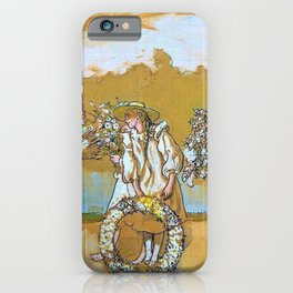 Outdoors Blows The Summer Wind - Carl Larsson iPhone Case