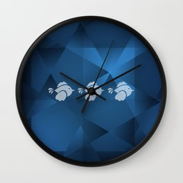 Birds in Formation Wall Clock