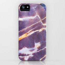 Abstract background texture marble stone iPhone Case