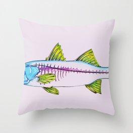 Uncommon Snook Throw Pillow