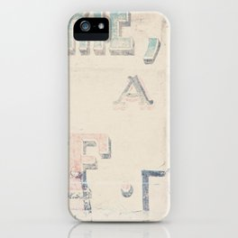 the writing on the wall ... iPhone Case