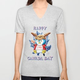 Canada Day 2019 - Eh - Text Unisex V-Neck