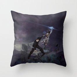 r i s e (between worlds) Throw Pillow