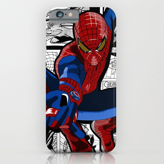 Spider-Man Comic iPhone & iPod Case