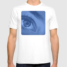 Eye See You Mens Fitted Tee White MEDIUM
