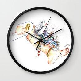 """Original illustration-""""Legs City """" Wall Clock"""