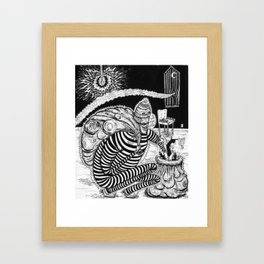 Time Burglars Framed Art Print