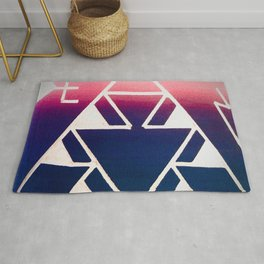 Triangular Visions Rug
