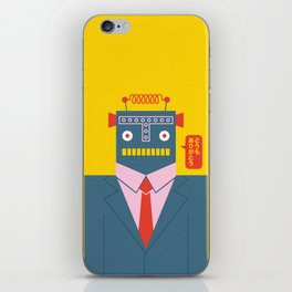 Mr. Roboto iPhone Skin