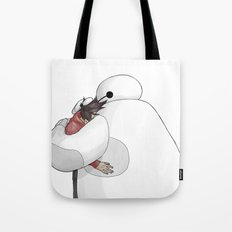 MARSHMALLOW HUG Tote Bag