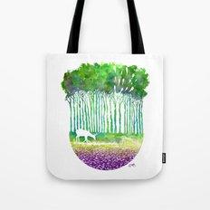 Deer Path Tote Bag