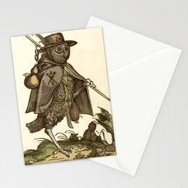 Owl dressed as a pilgrim 1550 Stationery Cards