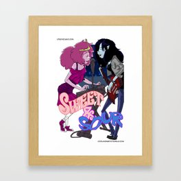 SWEET SOUR Framed Art Print