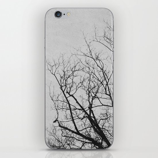 2 Trees (Grey) iPhone & iPod Skin